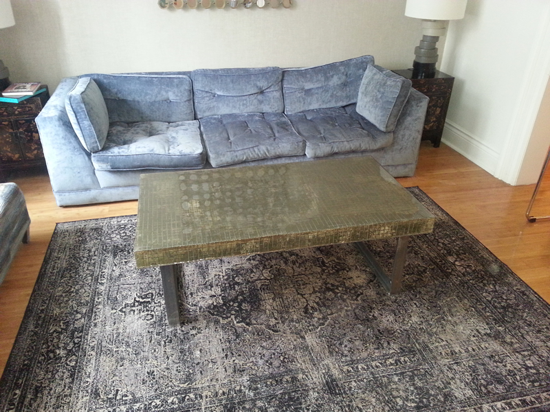 Composite Concrete Coffee Table