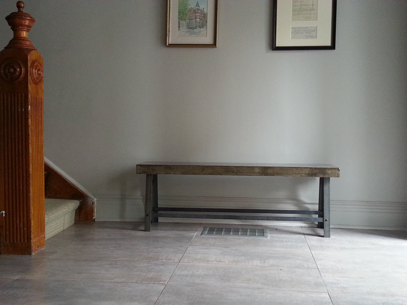Concrete Indoor Bench