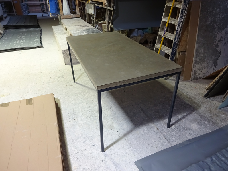 Concrete Dining Table H amp H Concrete Top Tables : 26 00 from www.concretetable.co.uk size 800 x 600 jpeg 323kB
