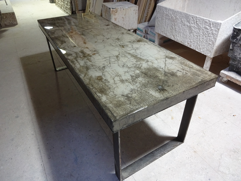 Concrete Dining Table | H & H Bespoke Concrete Top Tables