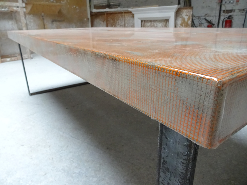 Large Concrete Table