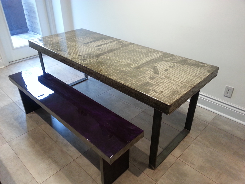 Concrete Dining Table H amp H Bespoke Concrete Top Tables : 8 00 from concretetable.co.uk size 800 x 600 jpeg 369kB
